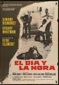 4y091 DAY & THE HOUR Spanish 1963 Rene Clement directed, Simone Signoret & Stuart Whitman!