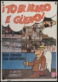4y101 TO ER MUNDO E GUENO Spanish 1982 great images, cool comedy compilation!