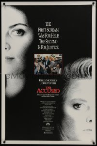 4z053 ACCUSED 1sh 1988 Jodie Foster, Kelly McGillis, the case that shocked a nation!
