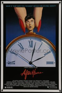 4z060 AFTER HOURS style B 1sh 1985 Martin Scorsese, Rosanna Arquette, great art by Mattelson!