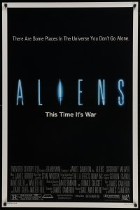4z070 ALIENS 1sh 1986 there are some places in the universe you don't go alone!