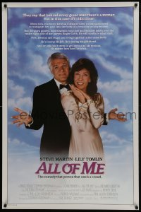 4z072 ALL OF ME 1sh 1984 wacky Steve Martin, Lily Tomlin, the comedy that proves one's a crowd!