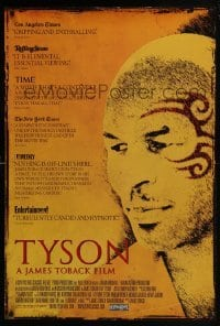 4z929 TYSON int'l 1sh 2009 Mike Tyson boxing documentary, cool close-up!