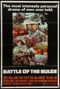5a038 BATTLE OF THE BULGE 40x60 1966 completely different photo montage, never before auctioned!