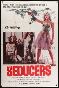 5a045 SEDUCERS 40x60 1962 it dares to shock you with a new kind of raw naked power & realism!