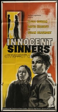 5a067 INNOCENT SINNERS English 3sh 1958 book by Rumer Godden, David Kossoff, Susan Beaumont!