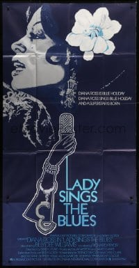 5a069 LADY SINGS THE BLUES English 3sh 1972 Diana Ross in her film debut as singer Billie Holiday!