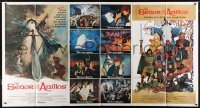 5a030 LORD OF THE RINGS int'l Spanish language 1-stop poster 1978 Ralph Bakshi cartoon, JRR Tolkien