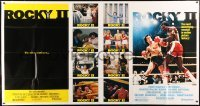 5a035 ROCKY II 1-stop poster 1979 Sylvester Stallone & Carl Weathers fight in ring, boxing sequel!