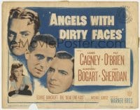 5b025 ANGELS WITH DIRTY FACES TC R1948 James Cagney, Pat O'Brien, Ann Sheridan & Humphrey Bogart!