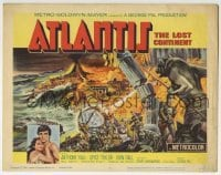 5b033 ATLANTIS THE LOST CONTINENT TC 1961 George Pal sci-fi, cool fantasy art by Joseph Smith!