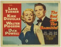 5b039 BAD & THE BEAUTIFUL TC 1953 Vincente Minnelli directed, sexy Lana Turner and Kirk Douglas!