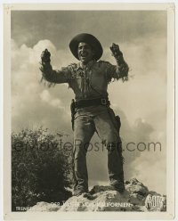 5c002 DER KAISER VON KALIFORNIEN German 9.25 x 11.75 still 1936 bio of Gold Rush's John Sutter!