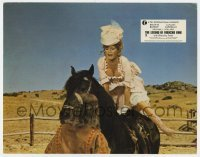 5c020 LEGEND OF FRENCHIE KING Canadian LC 1973 sexiest cowgirl Brigitte Bardot leaping on horse!