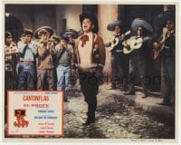 5c040 PEPE Mexican LC R1970s great image of Cantinflas, wacky mariachi band, all-star comedy!