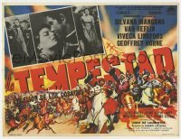 5c042 TEMPEST Mexican LC 1960 Van Heflin, Silvana Mangano, Lindfors as Catherine the Great!