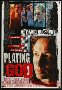 5d010 LOT OF 50 UNFOLDED PLAYING GOD 19X27 SPECIAL POSTERS 1997 David Duchovny, Timothy Hutton