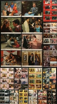 5d166 LOT OF 144 LOBBY CARDS 1950s-1990s complete sets from a variety of different movies!
