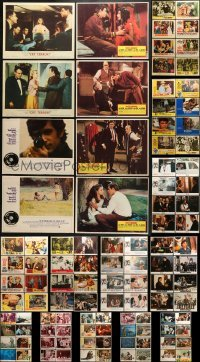 5d173 LOT OF 104 LOBBY CARDS 1950s-1990s incomplete sets from a variety of different movies!