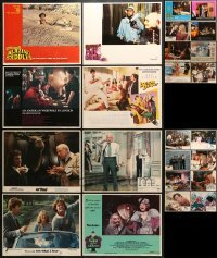 5d199 LOT OF 24 LOBBY CARDS 1970s-1980s great scenes from a variety of different movies!