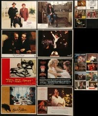 5d200 LOT OF 21 LOBBY CARDS 1970s-1990s great scenes from a variety of different movies!