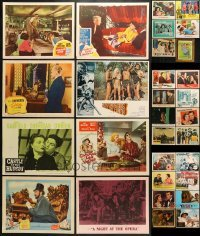 5d195 LOT OF 30 LOBBY CARDS 1940s-1980s great scenes from a variety of different movies!
