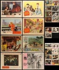 5d198 LOT OF 27 1940S-70S LOBBY CARDS 1940s-1970s great scenes from a variety of different movies!