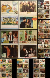 5d182 LOT OF 58 1930S-60S LOBBY CARDS 1930s-1960s great scenes from a variety of different movies!
