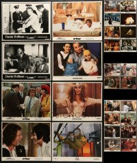 5d196 LOT OF 28 LOBBY CARDS 1970s-1990s incomplete sets from a variety of different movies!