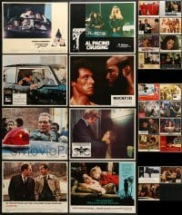5d197 LOT OF 27 LOBBY CARDS 1970s-1980s incomplete sets from a variety of different movies!