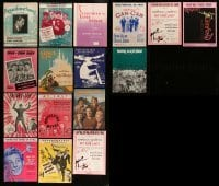5d280 LOT OF 16 SHEET MUSIC 1920s-1970s great songs from a variety of different movies!