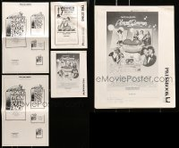 5d269 LOT OF 5 UNCUT PRESSBOOKS AND AD SUPPLEMENTS 1940s-1970s advertising a variety of movies!