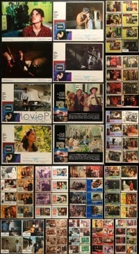 5d167 LOT OF 140 LOBBY CARDS 1940s-1990s incomplete sets from a variety of different movies!