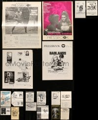 5d257 LOT OF 18 UNCUT PRESSBOOKS 1960s-1970s advertising for a variety of different movies!