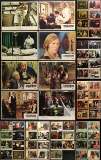 5d180 LOT OF 63 LOBBY CARDS 1950s-1990s incomplete sets from a variety of different movies!