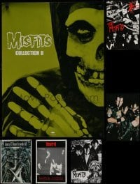 5d031 LOT OF 6 UNFOLDED MISFITS/DANZIG COMMERCIAL POSTERS 1980s-1990s great images of the bands!