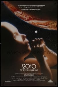 5s005 2010 int'l 1sh 1984 sequel to 2001: A Space Odyssey, image of the starchild & Jupiter!