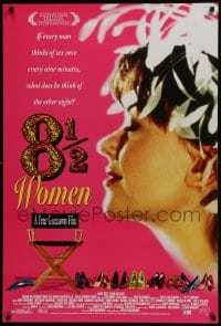 5s012 8 1/2 WOMEN 1sh 2000 Peter Greenaway directed, every man thinks of sex once every 9 minutes!