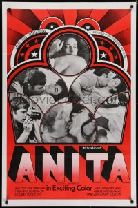 5s045 ANITA 1sh 1969 hard knocks, love thy neighbor, especially if her husband's not home!