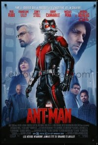5s046 ANT-MAN int'l French language advance DS 1sh 2015 Paul Rudd in title role, Douglas, Lilly!