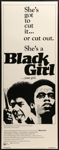 5t045 BLACK GIRL insert 1972 directed by Ossie Davis, Claudia McNeil has to cut it or cut out!