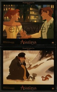 5w009 ANASTASIA 10 LCs 1997 Don Bluth cartoon about the missing Russian princess!