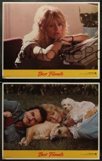 5w033 BEST FRIENDS 8 LCs 1982 Norman Jewison, great images of Burt Reynolds & sexy Goldie Hawn!
