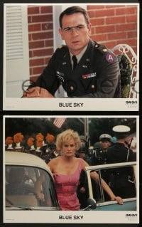 5w040 BLUE SKY 8 LCs 1994 Jessica Lange, Tommy Lee Jones, Powers Boothe, directed by Tony Richardson