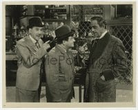 5x038 ABBOTT & COSTELLO MEET DR. JEKYLL & MR. HYDE 8x10 still 1953 Bud & Lou with Boris Karloff!