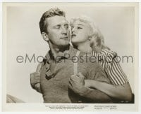 5x039 ACE IN THE HOLE 8x10 still 1951 Billy Wilder classic, c/u of Kirk Douglas & Jan Sterling!