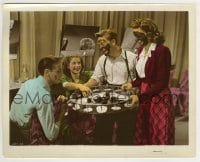 5x002 BABES ON BROADWAY color-glos 8x10 still 1941 Mickey Rooney & Judy Garland w/ painted faces!