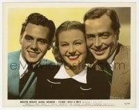 5x005 FATHER TAKES A WIFE color-glos 8x10 still 1941 Florence Rice between Desi Arnaz & John Howard!