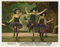 5x007 FUNNY GIRL color 8x10 still 1969 great image of Barbra Streisand dancing on roller skates!