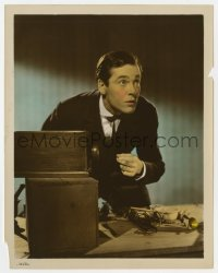5x023 STORY OF ALEXANDER GRAHAM BELL color-glos 8x10.25 still 1939 Henry Fonda as the assistant!